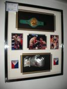 Manny Pacquia Signed Glove and WBC Mini Belt