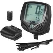 Evodigitals Wireless Bike Speedo Waterproof With 14 Functions - MPH & KMH