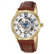 Stuhrling Original Men's Delphi Oracle (Men's) Automatic Skeleton Goldtone Watch -107BG.3335T2