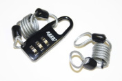 SKI LOCK AGENT TNG, new, original packaging, combination lock, only 45 g