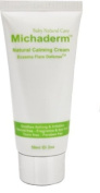 Michaderm Eczema Flare Defence Natural Calming Cream (2oz), for Babies with Eczema, Dry Skin Patches, Itchy Skin Bumps, 100% Steroid Free