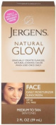 Jergens Natural Glow Healthy Complexion Daily Facial Moisturiser for Medium to Tan SPF, 60ml