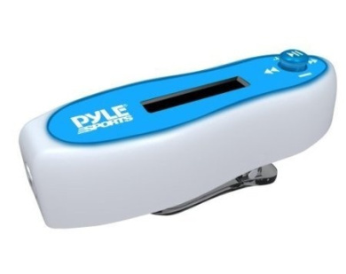 Pyle PSLPWMP5 Waterproof Pedometer and Lap/Calorie Counter with MP3 Player