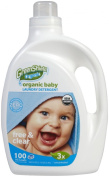GreenShield Organic USDA Organic Baby Laundry Detergent, Free & Clear, 2960ml, Unscented