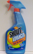 Shout Advanced Action Gel Spray Pump, 650ml, Works in HE & Standard Washers
