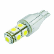 (2 pcs) LED Bulb 9 pcs 5050 SMD LEDs T15 Base 12V Natural White 6000K