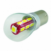 (2 pcs) LED Bulb BAU15S Base 12V Natural White 6000K