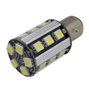 (2 pcs) LED CANBUS Bulb BAY15D Base 8W 12V Natural White 6000K