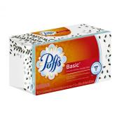 Puffs Basic Facial Tissues; 1 Family Box; 180 Tissues Per Box