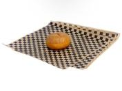 Food Grade Tissue Paper, Black Tan Cheque
