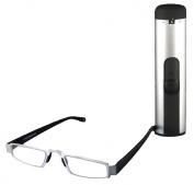 I-Mag Modern Lightweight Slim Reading Glasses with Easy Push Case