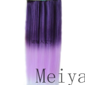 Fashion Line 2013 New Style 50cm Straight Clip Hair Piece Extension 105g