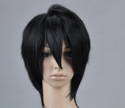 The Tomb Notes Shiki Black Cosplay Wig