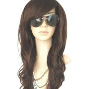MelodySusie High Quality New Women's Dark Brown Long Full Curly Wavy Glamour Hair Wig Fashion + MelodySusie Wig...