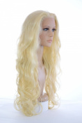 Long Curly Glamorous Lace Front Wig | In the style of Demi Lovato and Guilana Rancic