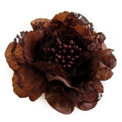 Sara Monica Flower Hair Clip and Pin Victorian Lace