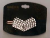 Karina French Couture Faux Diamond Head Bow