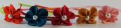 Fabric and Ribbon Flower Headbands