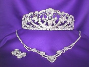 Amore Tiara and necklace D'italia Set