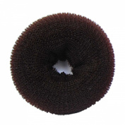 SaveGoodBuy 1 Piece Hair Styling Mesh Chignon Bun Maker (Brown Colour--3 Size for Choose)+