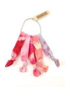 Elastic Hair Tie & Bracelet in One Tie Dye ROSE colour 5PC