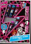 Monster High 5 Voltage Magnetic Lip Balms and Mirror