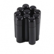 100 Black Empty Lip Balm Tubes Containers