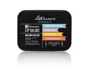SW Basics Vegan Lip Balm Flight