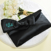 Exclusive Gifts and Favours-Black Bridesmaid Clutch with Survival Kit By Cathy Concepts