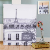 Exclusive Gifts and Favours-Full Colour Love in Paris Gallery Wrapped Canvas
