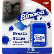 Breath Strips Cool Peppermint - Instantly Freshen Your Breath, 24 ct,