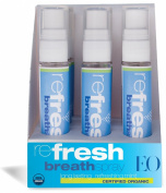 EO Refresh Certified Organic Breath Spray, 10ml