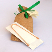 Copper Tongue Cleaner - Exquisitely Gift Wrapped