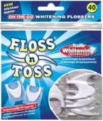 StaiNo Floss N Toss Tabs Waxed, Original, 32 /Pack