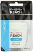 Reach J & J Dental Floss Waxed 55 Yd
