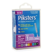 Piksters Interdental Brushes, Size 1 40 ea