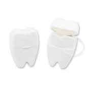 Tooth Shaped Dental Floss - 48 per pack