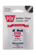 POH Dental Floss Unwaxed 100 Yards - 12 Rolls Per Box