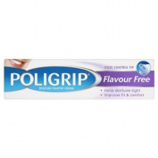 Poli-Grip Flavour Free Denture Fixative Cream Ultra Hold & Neutral Tasting 40g