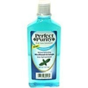Perfect Purity peppermint flavour antiseptic mouthwash, gragle - 470ml