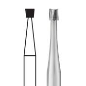 #14986 SS White Standard Operatory Carbides - Inverted Cone Shape FG #36, 1.2 mm, 10/Pkg