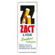 Zact Lion Smoker's Toothpaste 160 G. Thailand Product