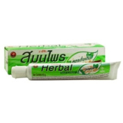 Twin Lotus Herbal Toothpaste Thai Oral Gum and Tongue Care 40g