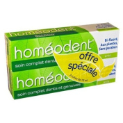 Boiron Homéodent Complande Care For Teandh And Gums 2X75Ml