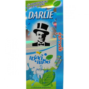 Darlie Toothpaste Zesty Fresh Mint with Icy Cool Bead and Mouthwash Net Wt 140 G (4.94 Oz) X 2 Tubes