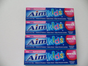 Aim Toothpaste for Kids(4) 140ml Tubes