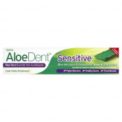 AloeDent Sensitive 100 ml Aloe Vera Plus Echinacea Fluoride-Free Toothpaste - Pack of 3