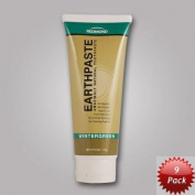 Earthpaste - 9 Pack - Wintergreen - Natural Organic Flouride Free Toothpaste - 120ml Tubes