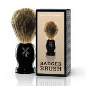 Van Der Hagen Men's Luxury, Badger Brush, 90ml
