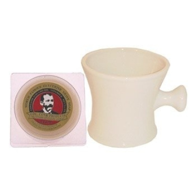 Ball Grip Ceramic Mug With Free 70ml Col. Conk Bay Rum Shave Soap